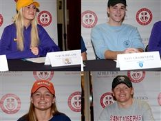 Saint Andrew's Celebrates Four Seniors on National Signing Day