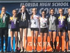 Ellie Tymorek '21 Earns Medal Placing 6th at FHSAA State Cross Country Meet