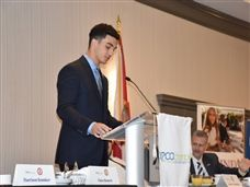 Harrison Konsker '19 Addresses the Boca Business Community