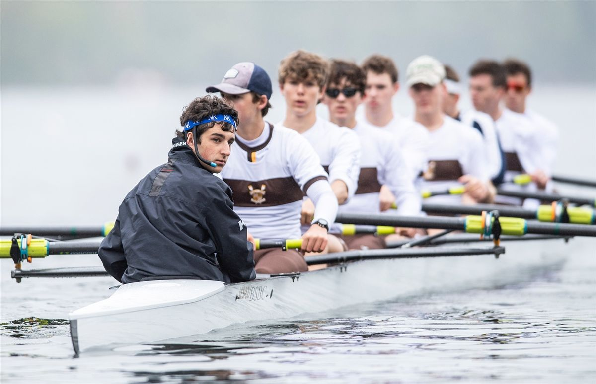 Crew Rows to Bronze at Riverfront Regatta