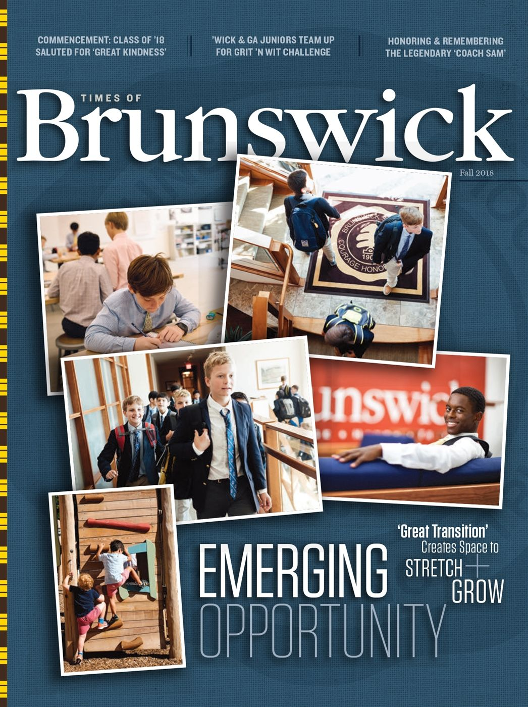 Times of Brunswick, Fall 2018