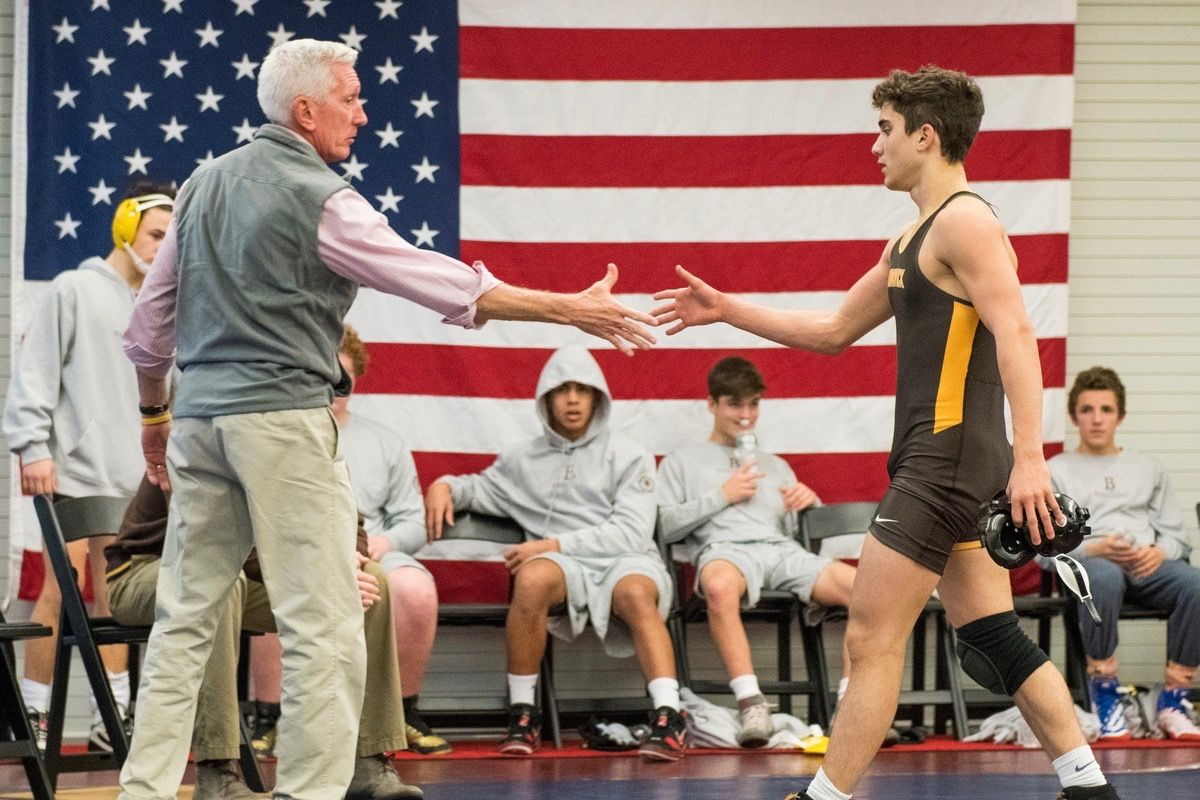 Most Outstanding: Errico Earns Wrestling Honor