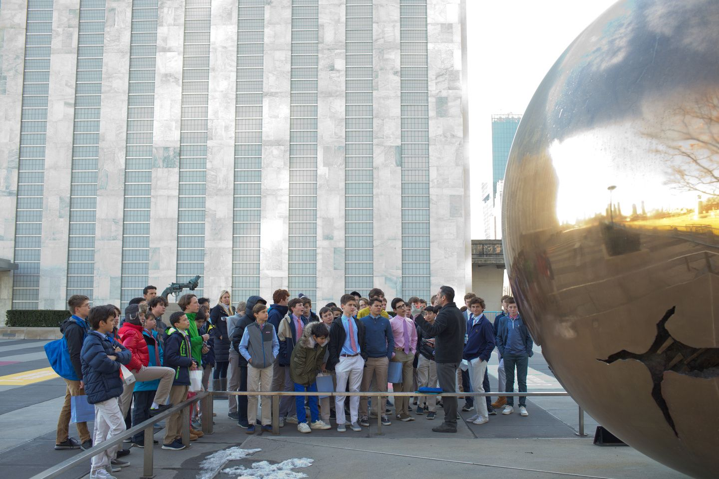 United Nations Headquarters, Gr7 Field Trip