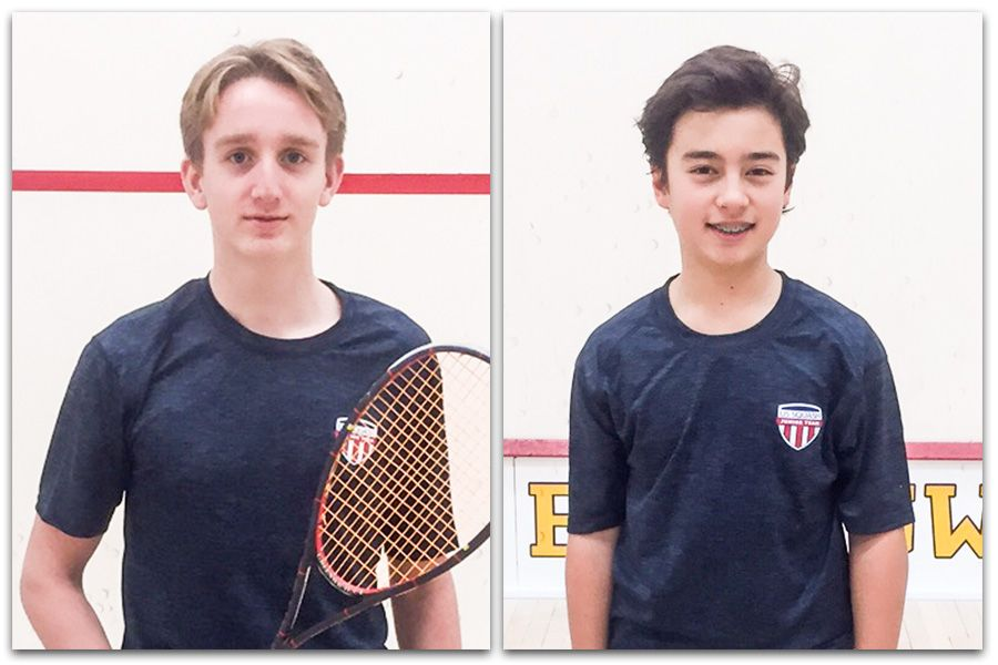 Tea for Two: Squash Duo Plays in British Open