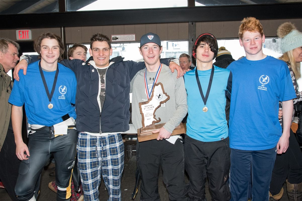 Silver Skiers: Bruins Take Second at NEPSAC Championship