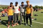 4x1 Champs: (L to R): Wilder, Kelly, Allen, Johnson (photo courtesy C. Johnson)