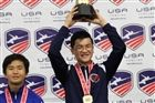 National Champion John Lin (photo courtesy of U.S. Fencing Association)