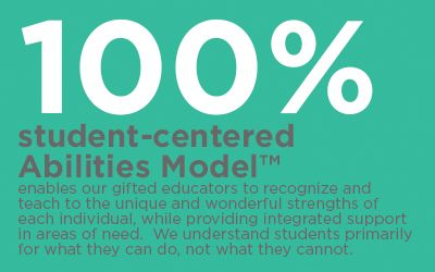 100% student-centered Abilities Model