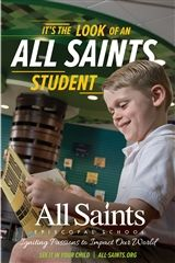 The Look of an All Saints Student Brochure