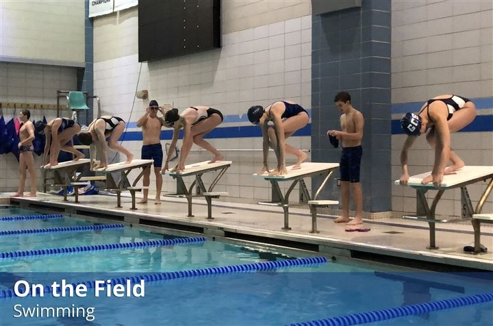 On Field: Varsity Swimming