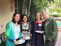 LA Alumnae Gather for Cocktail Party