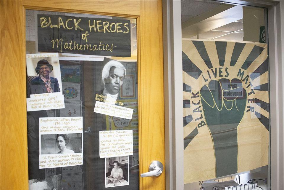 Lowell School Black Lives Matter