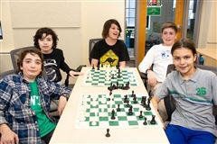 Lowell School's Chess Team