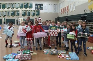 Core Values in Action - Holiday Gift Drive