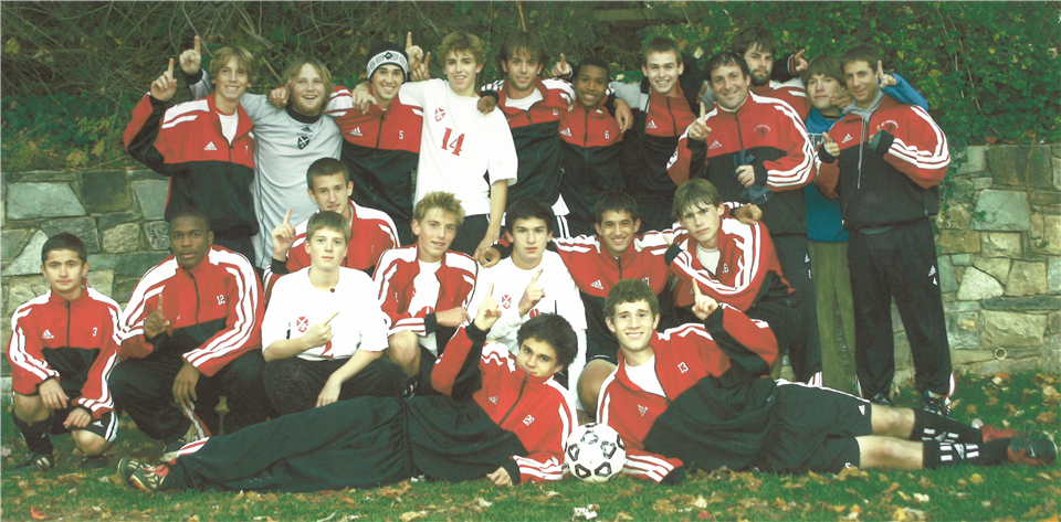 The 2003 boys soccer team - St. Andrew's Episcopal School