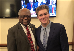 Kyle Boozer interviewed Rep. Jim Clyburn of South Carolina on the sit-in movement of 1960.