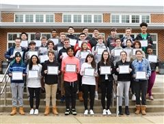 Thirty-seven St. Andrew's students were named D!Lab interns on Tuesday, March 3.