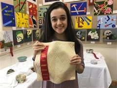 Upper School student wins award for art project - St. Andrew's Episcopal School