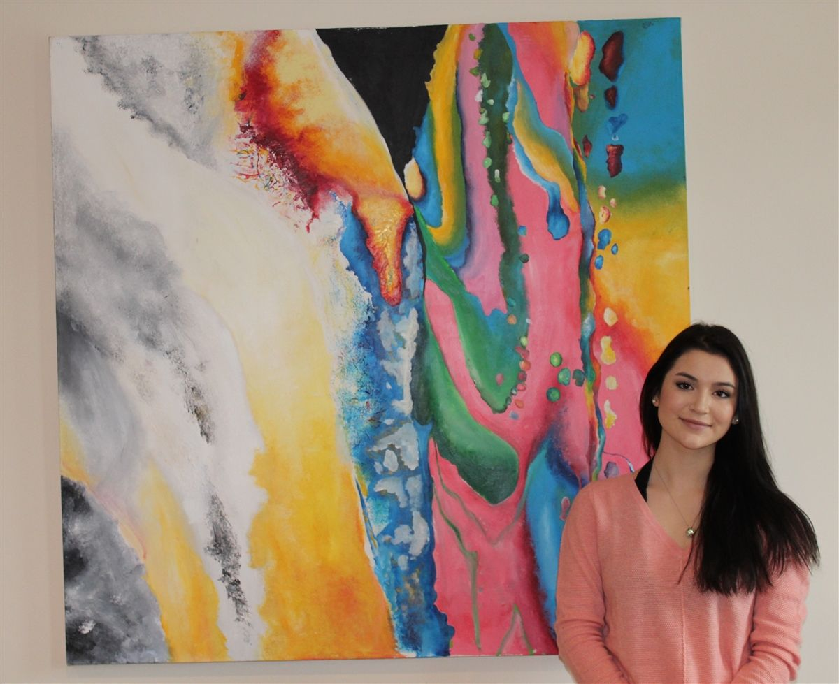 Hun Students Produce Award-Winning Art