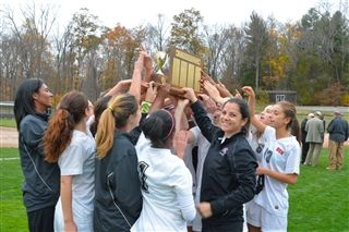 Coach Hallac was named The Times of Trenton 2014 Girls' Soccer Coach of the Year.