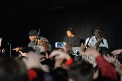 On Wednesday, December 7th, The Hun School of Princeton welcomed Black Violin, a strings-playing hip-hop duo, for an all-school concert.