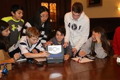Middle School student participate in Escape the Room during Ex-Day on Friday, January 20th.