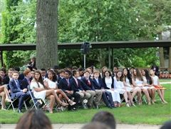 The Hun Middle School of Princeton graduated forty-six eighth-graders on June 7th.