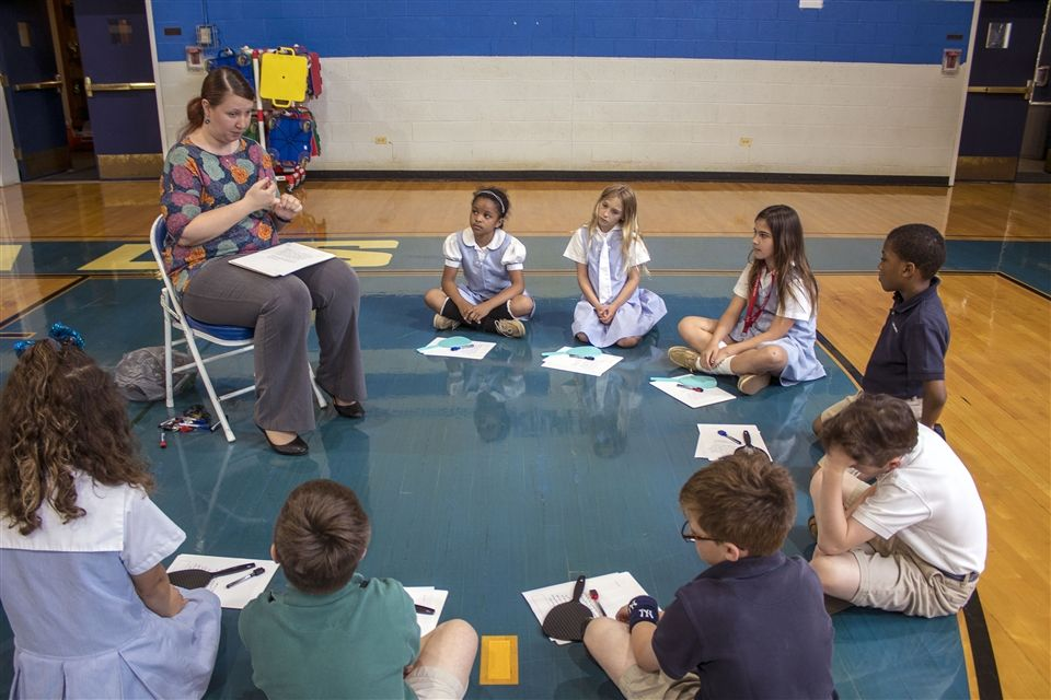 Students use science, language arts and math to understand