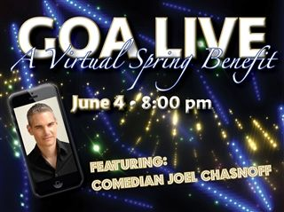 GOA LIVE: A Virtual Spring Benefit