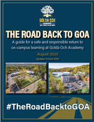 Read The Road Back to GOA: Reopening Plan 2020
