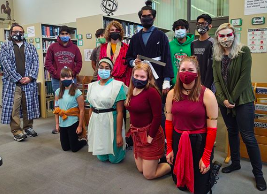 "Debate team as the cast of ""Avatar: The Last Airbender"""