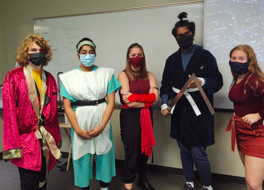 Debate team Halloween costumes