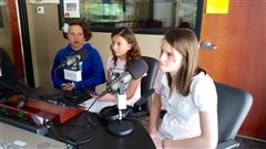 Students on KPCW radio this week to promote coalition efforts