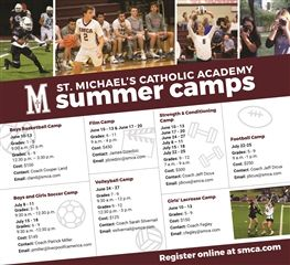 2019 Summer Sports & Film Camps