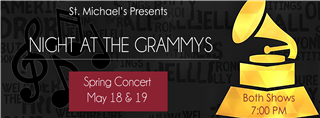 """Night at the Grammys"" Spring Musical May 18-19 RSVP"