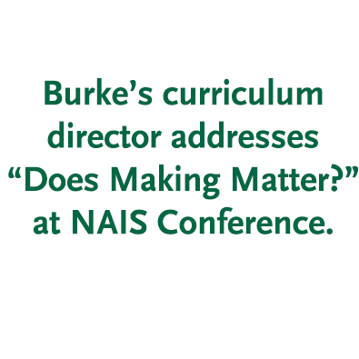 Curriculum Director Speaks at National Schools Conference