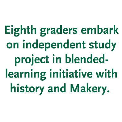 8th-Grade Blended Learning: An Independent Study Model