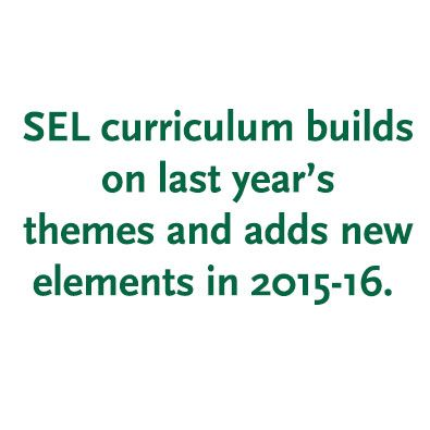 SEL Enters Second Year