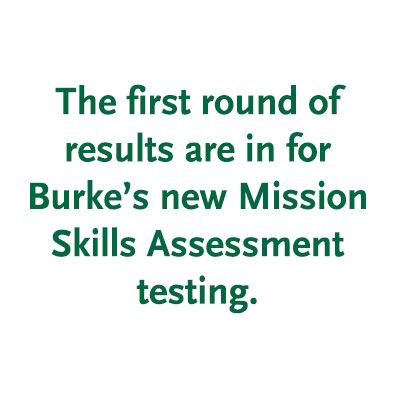 An Update on Mission Skills at Burke's