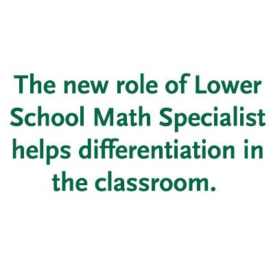 Burke's Strategic Plan in Action: Differentiation in Lower School Math