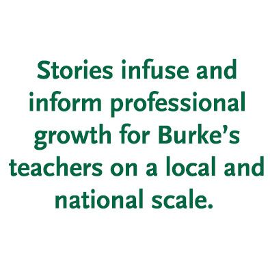 Exploring Stories — An Update on Professional Development at Burke's