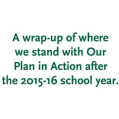Our Plan in Action 2015-16