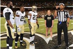 Photo by Michael C. Hebert / New Orleans Saints