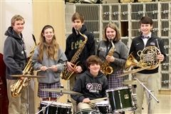 Six CPA middle and high school band students were invited to participate in the 2015-16 MTSBOA Mid-State Honor Band in Murfreesboro.