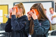 Students beta test the Google Expeditions app