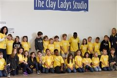 CPA second graders explore science and art during visit to The Clay Lady's workshop