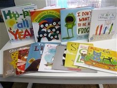 Books donated to our Pre-K classrooms