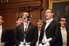 Seth McNay '13 is a member of Yale's Whiffenpoofs