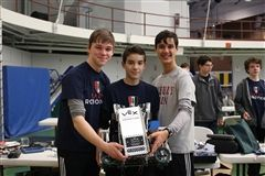 VEX champs with winning robot,