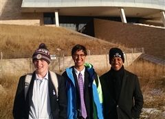 Joe Nero, Kalyan Palepu, and Trey Sullivan at the IISPSC in Winnipeg, Canada